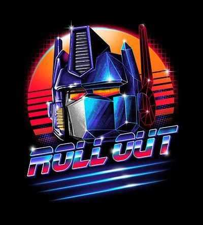 Roll Out T-Shirts by Vincent Trinidad - Pixel Empire
