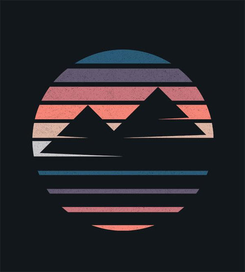 Foggy Mountains T-Shirts by Daniel Teres - Pixel Empire