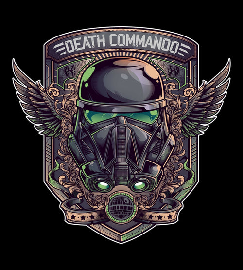Death Commando T-Shirts by Juan Manuel Orozco - Pixel Empire