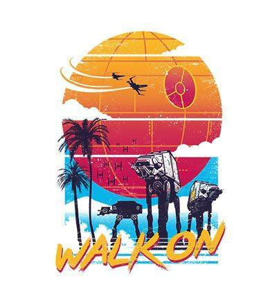 Walk On T-Shirts by Vincent Trinidad - Pixel Empire
