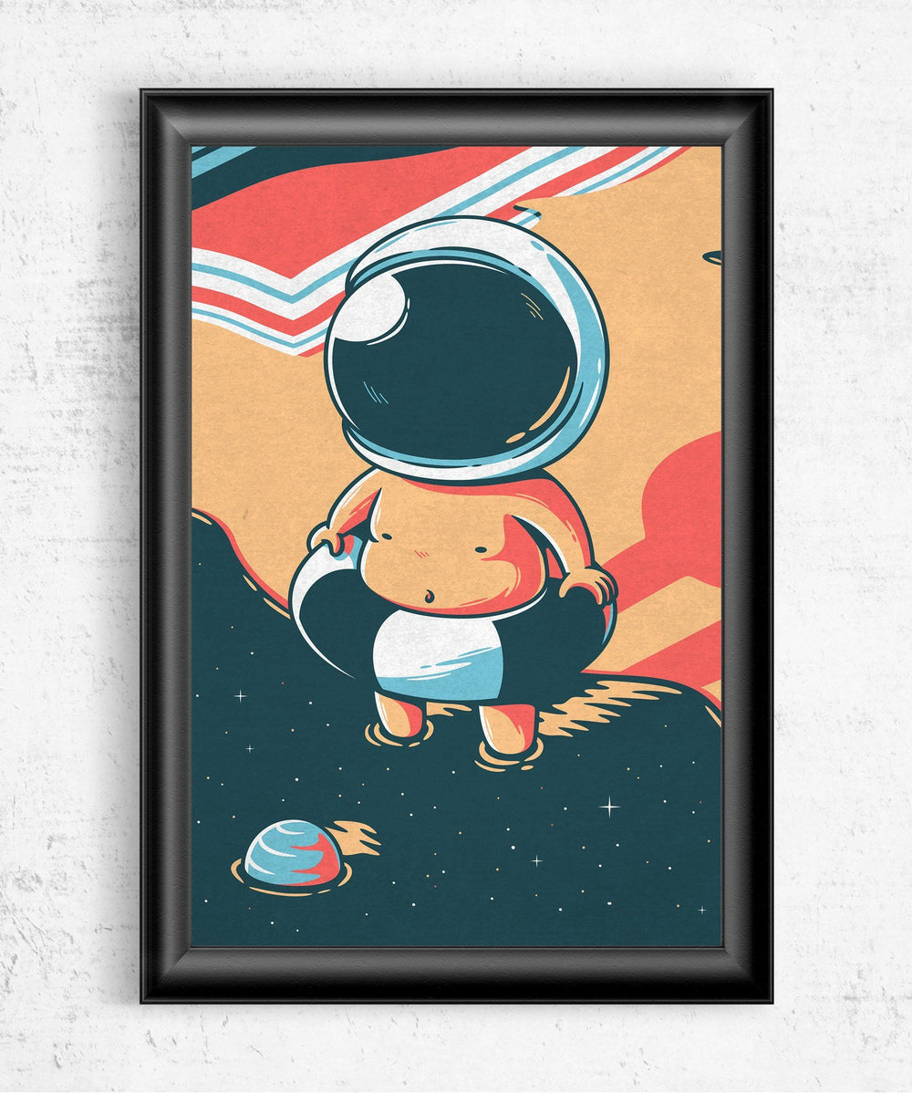Space Summer Posters by Elia Colombo - Pixel Empire