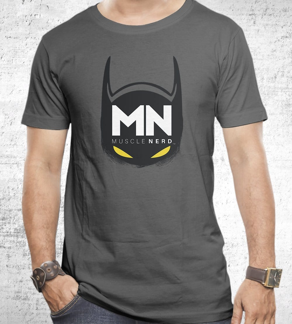 Bat Muscle Nerd T-Shirts by Muscle Nerd - Pixel Empire