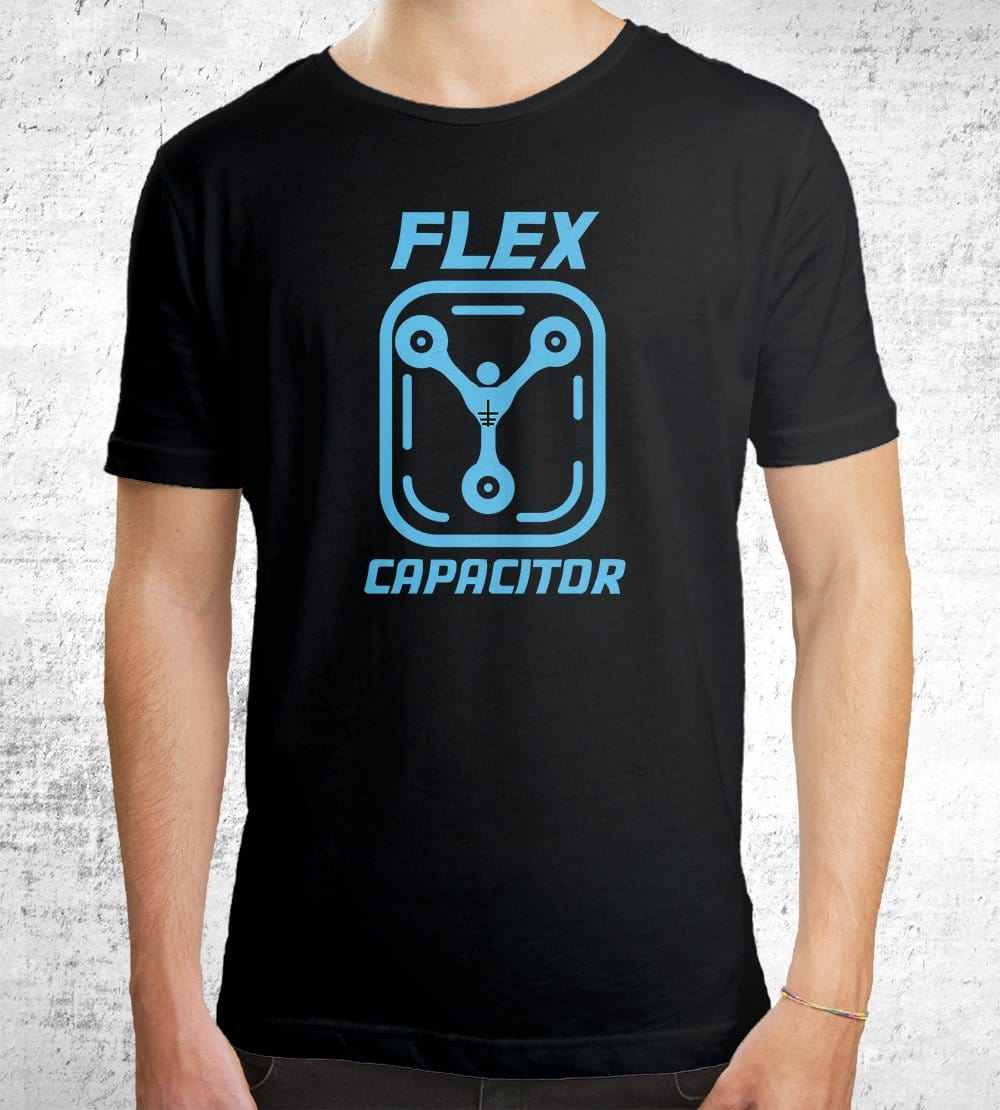 Flex Capacitor T-Shirts by Edge Fitness - Pixel Empire