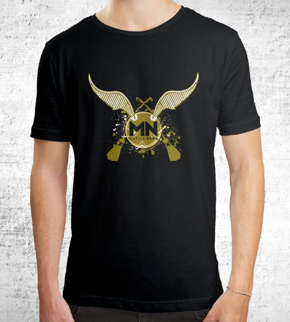 Muscle Nerd Snitch T-Shirts by Muscle Nerd - Pixel Empire