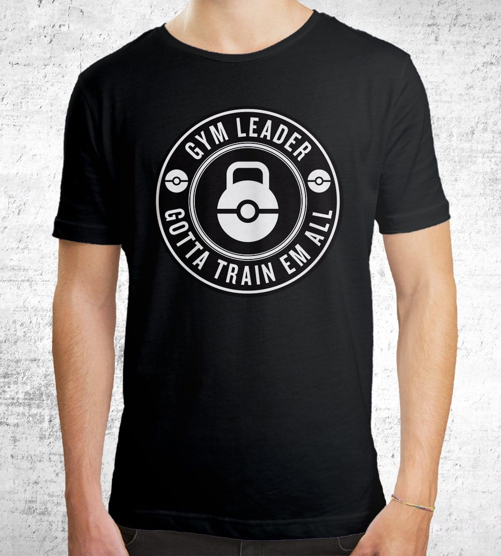 Gym Leader T-Shirts by Edge Fitness - Pixel Empire