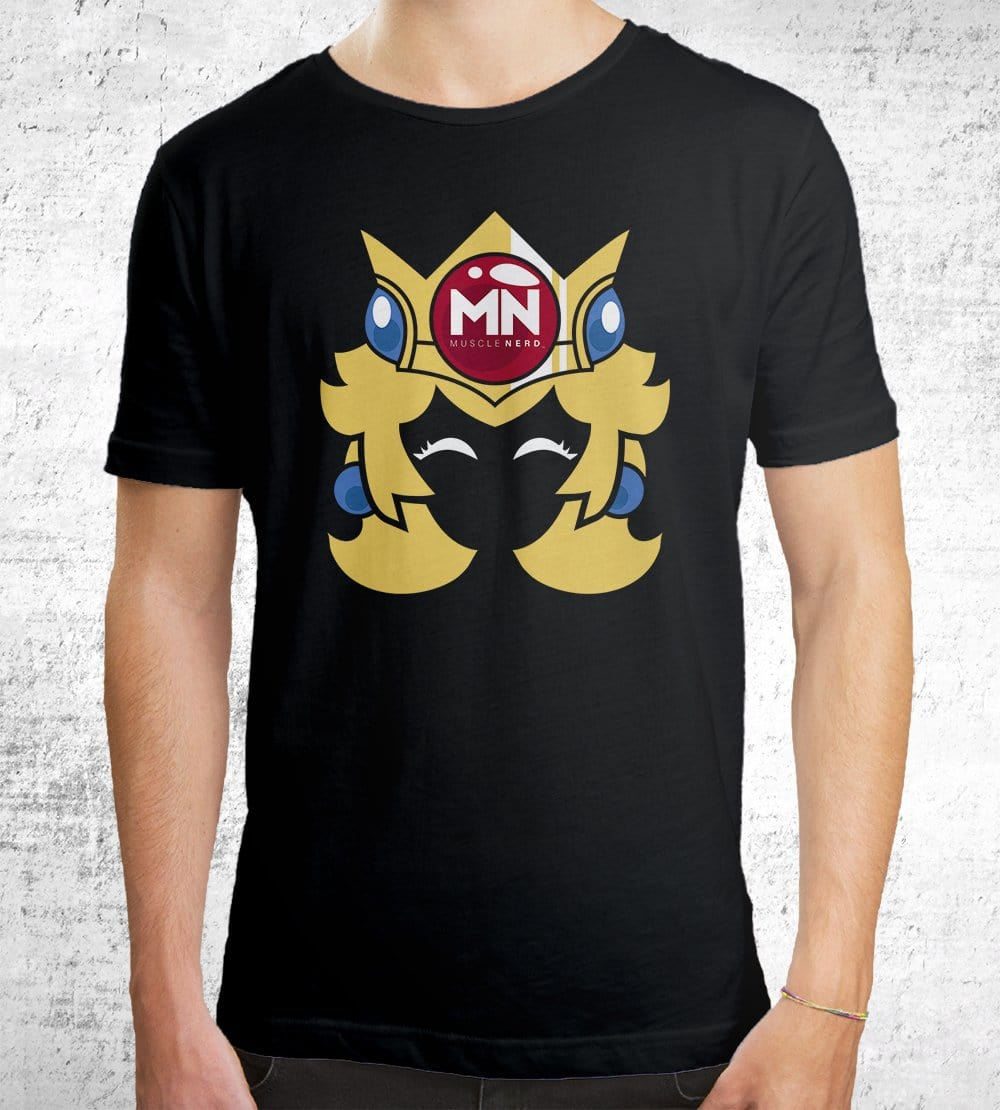 Princess Muscle Nerd T-Shirts by Muscle Nerd - Pixel Empire