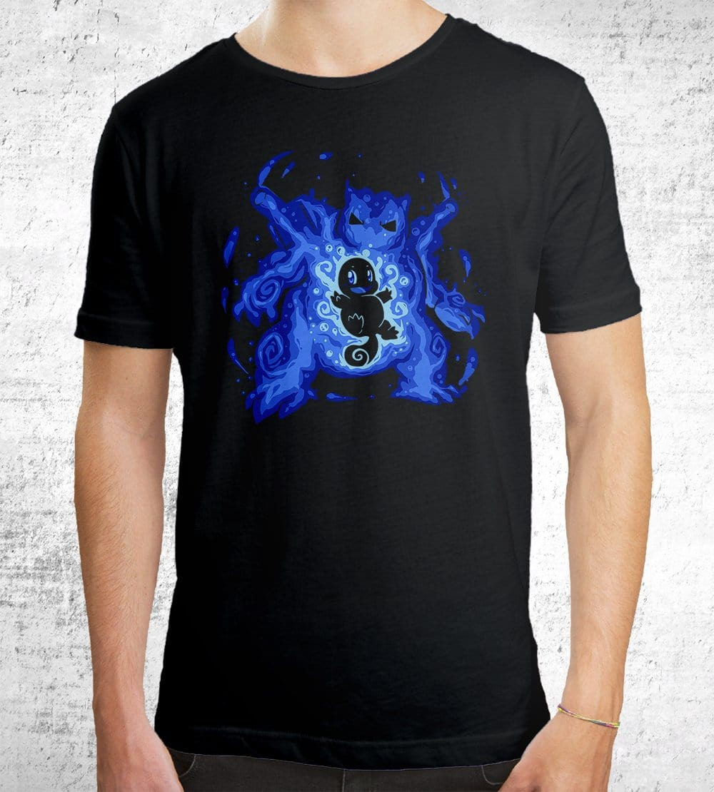 The Water Tortoise Within T-Shirts by Techranova - Pixel Empire