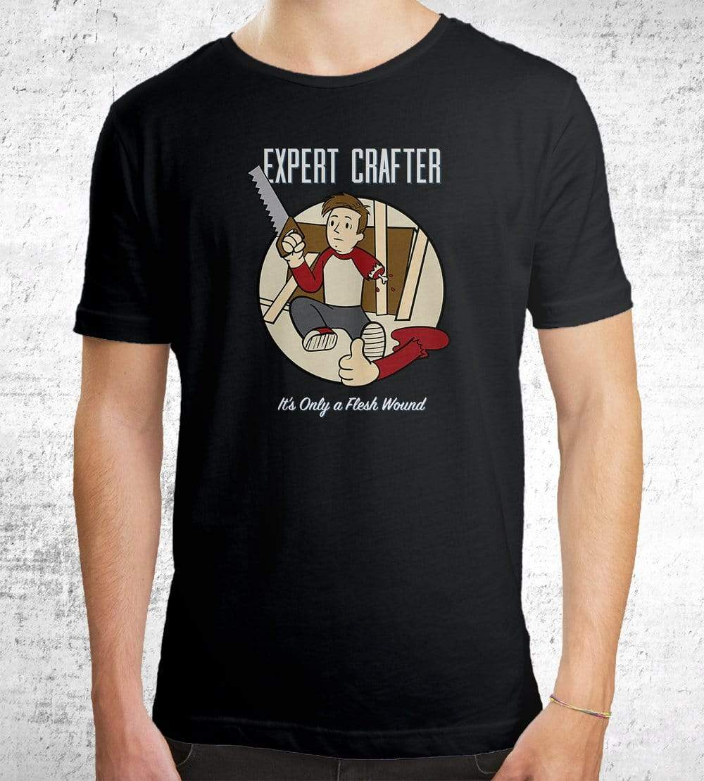 Expert Crafter T-Shirts by UpIsNotJump - Pixel Empire