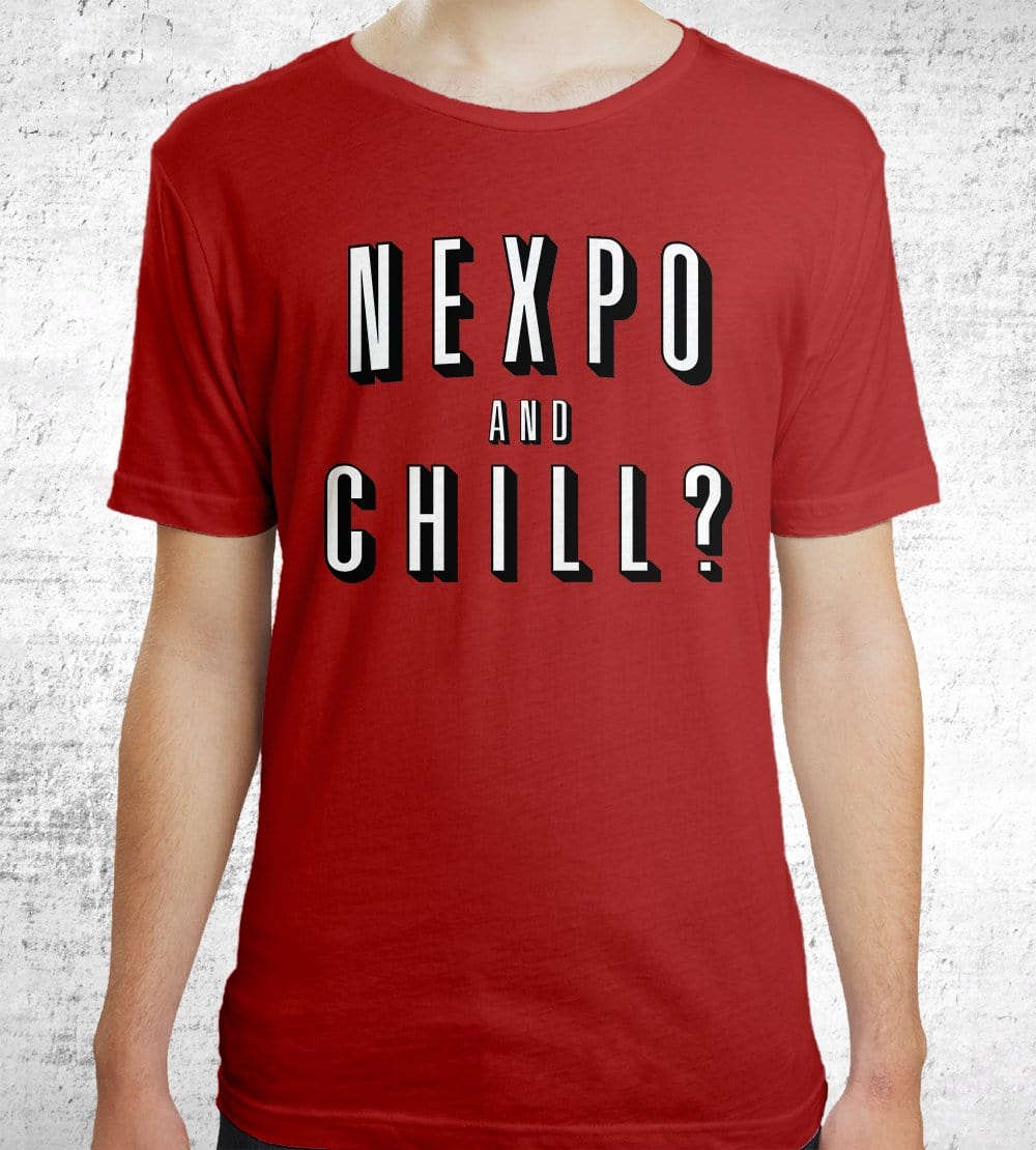 Nexpo And Chill T-Shirts by Nexpo - Pixel Empire