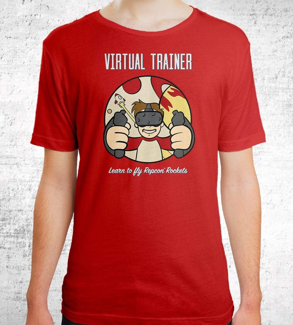 Virtual Trainer T-Shirts by UpIsNotJump - Pixel Empire