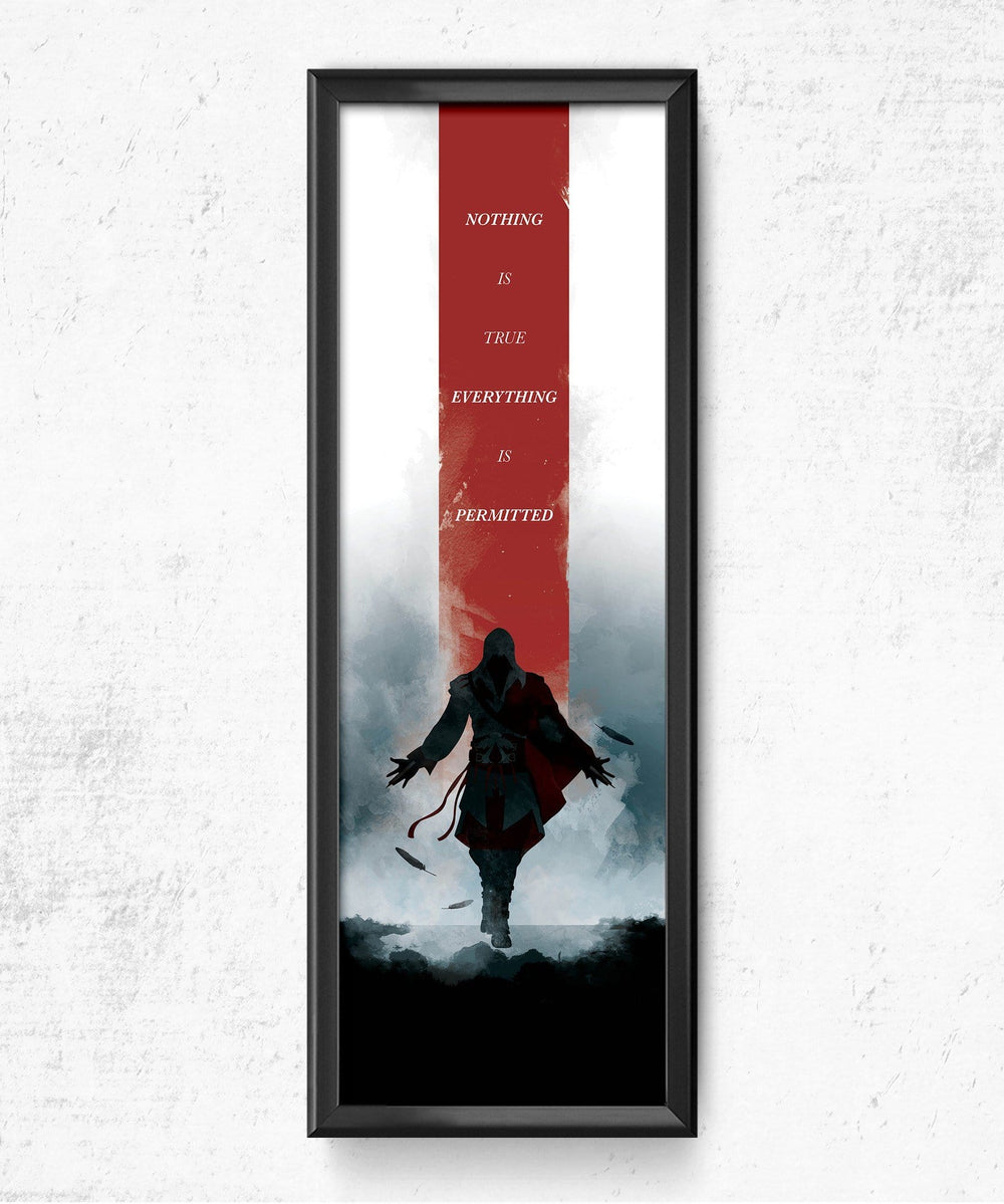 Assassin's Creed - Nothing is True Posters by Dylan West - Pixel Empire