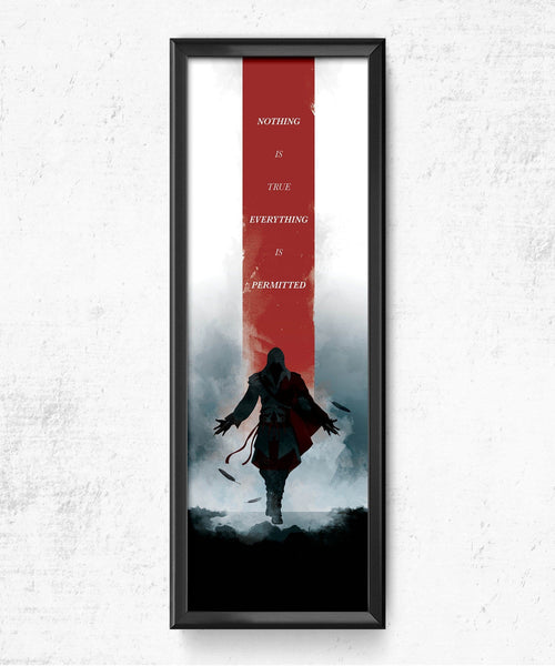 LIMITED Assassin's Creed - Nothing is True Posters by The Pixel Empire - Pixel Empire