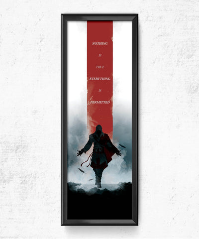 LIMITED Assassin's Creed - Nothing is True Posters- The Pixel Empire