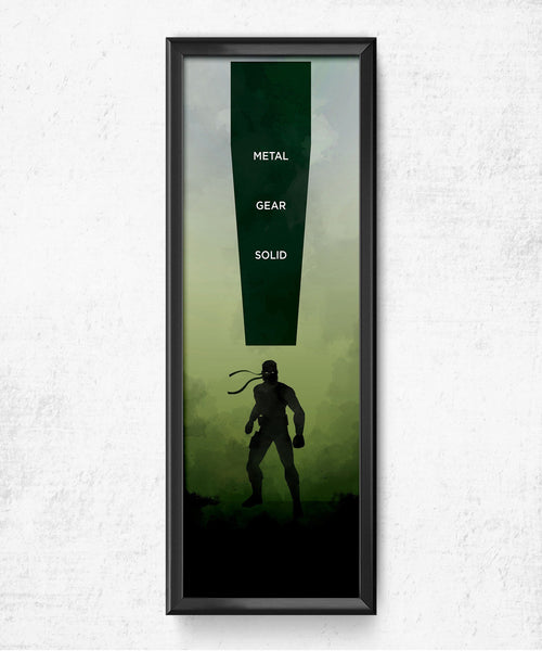 Metal Gear Solid Posters by Dylan West - Pixel Empire