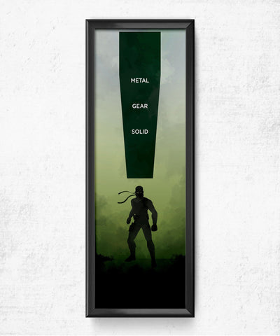 LIMITED Metal Gear Solid Posters- The Pixel Empire
