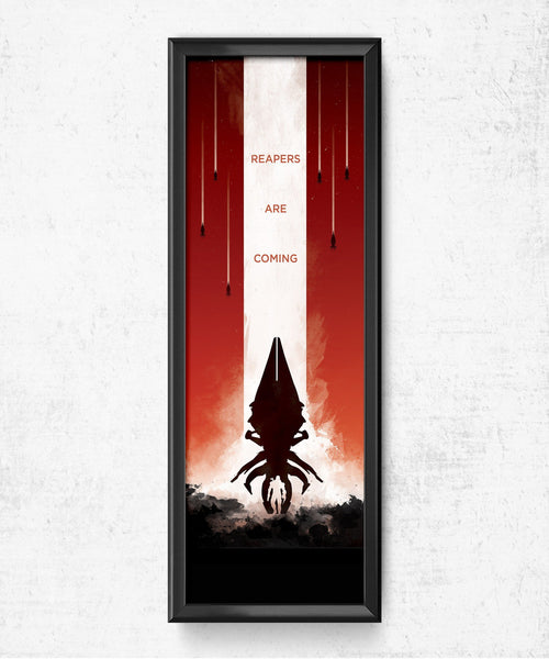 LIMITED Mass Effect - Reapers Are Coming Posters- The Pixel Empire