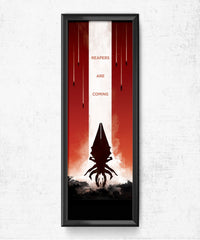 Mass Effect - Reapers Are Coming Posters by Dylan West - Pixel Empire