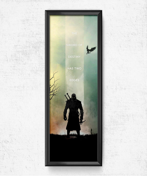 LIMITED The Witcher - Sword of Destiny Posters- The Pixel Empire