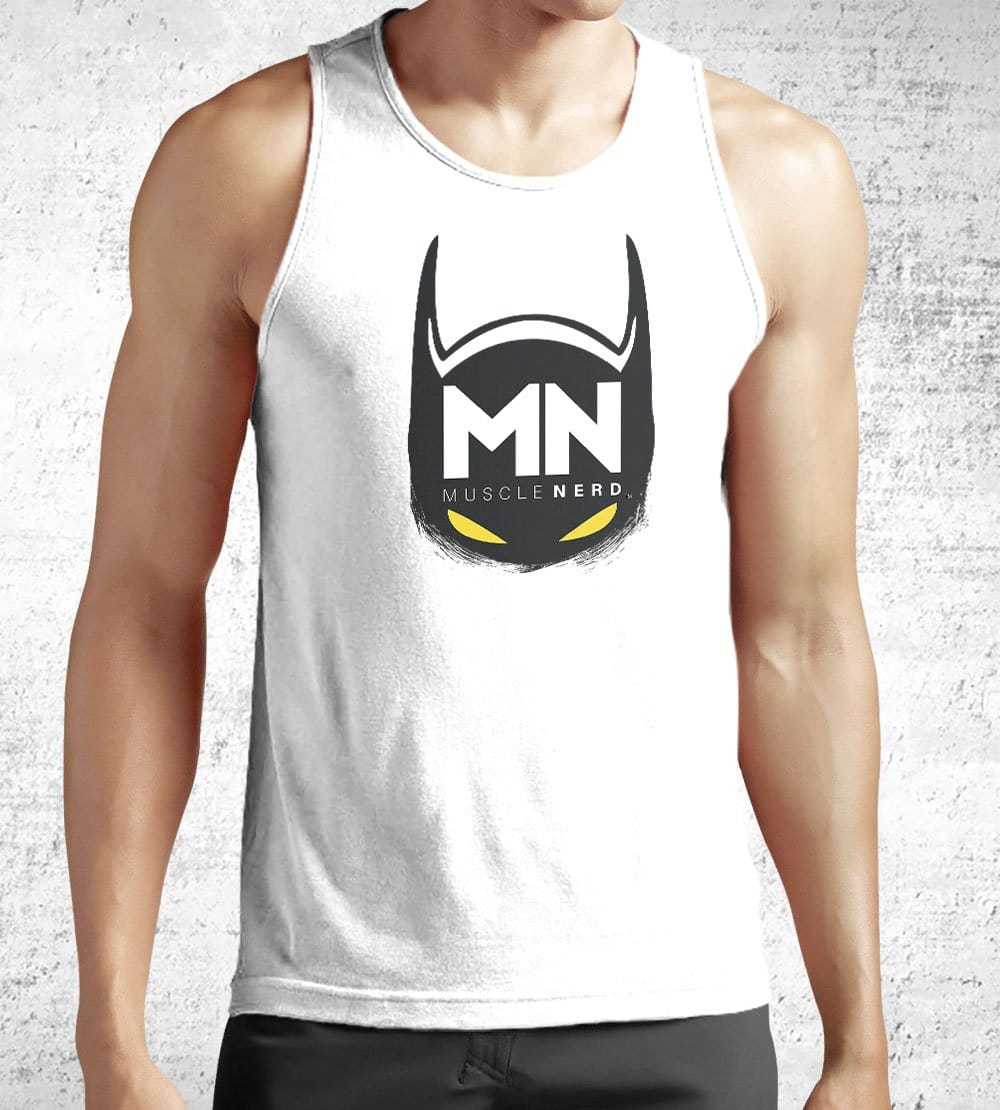 Bat Muscle Nerd Tank Tops by Muscle Nerd - Pixel Empire