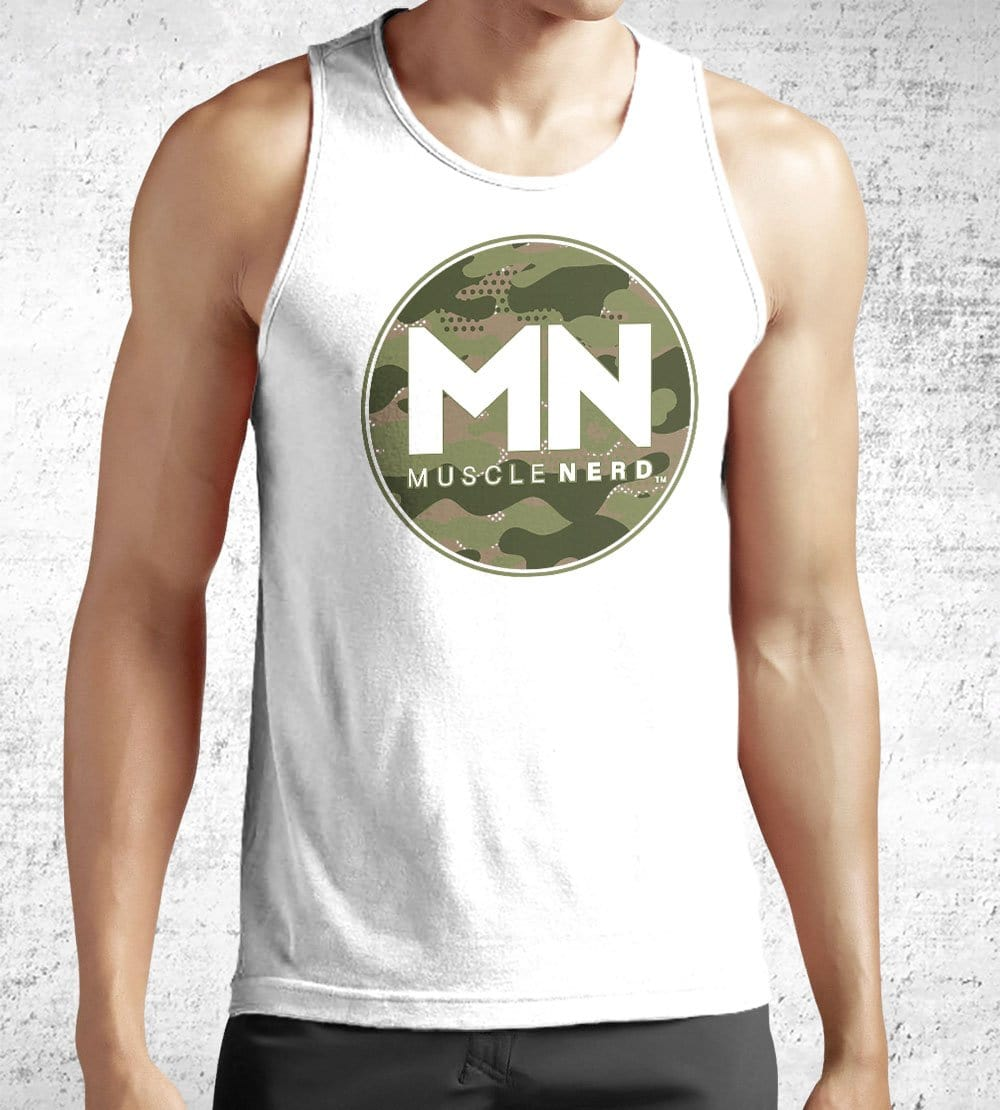 Camo Muscle Nerd Tank Tops by Muscle Nerd - Pixel Empire