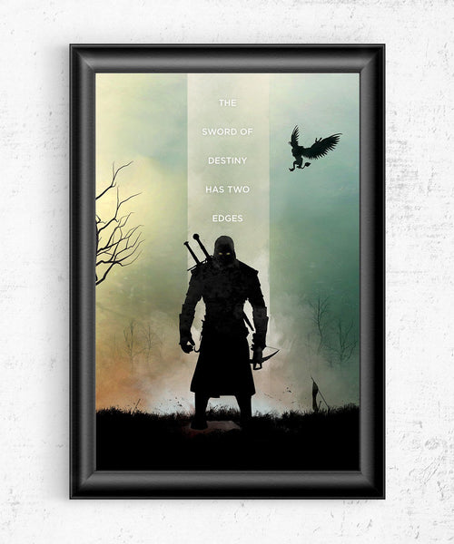 The Witcher - Sword of Destiny Posters by The Pixel Empire - Pixel Empire