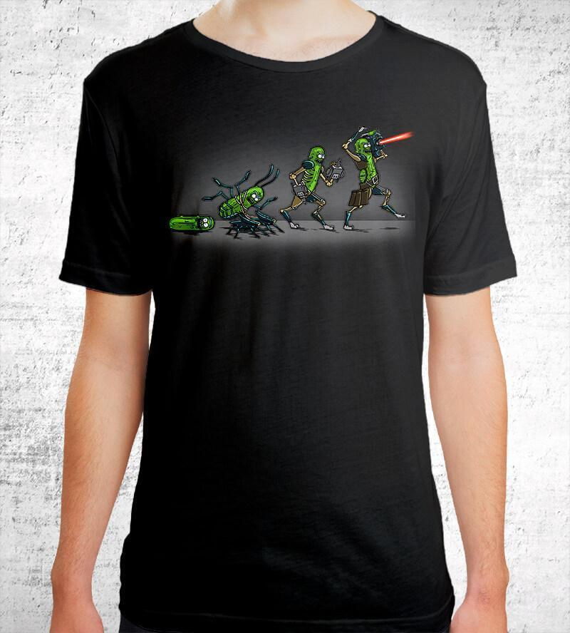 Pickle Evolution T-Shirts by COD Designs - Pixel Empire