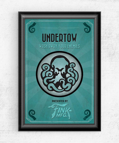 Bioshock Vigor Undertow Posters by The Pixel Empire - Pixel Empire