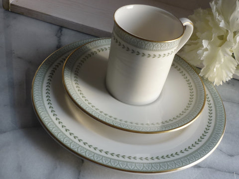 "Royal Doulton ""Berkshire"" Demitasse Trio"