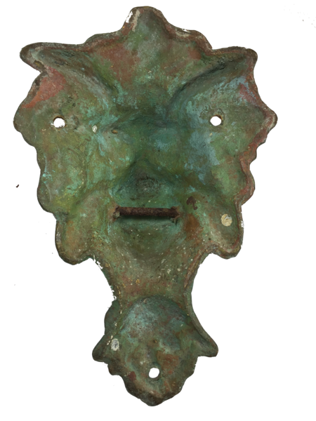 Antique Gargoyle Door Knocker - 1 of 2