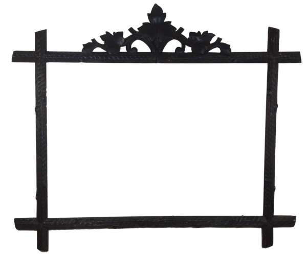 SOLD - Carved Wood Frame from Black Forest, Germany