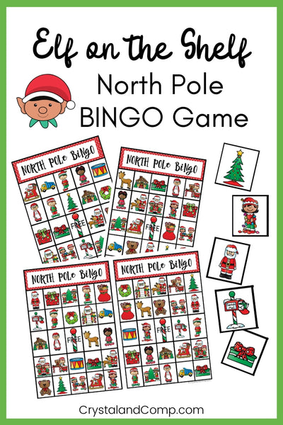 Elf on the Shelf Printable Bingo Cards