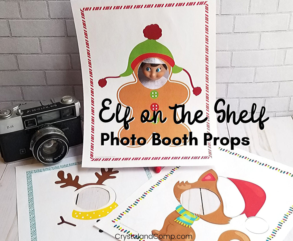 Elf on the Shelf Printable Photo Booth