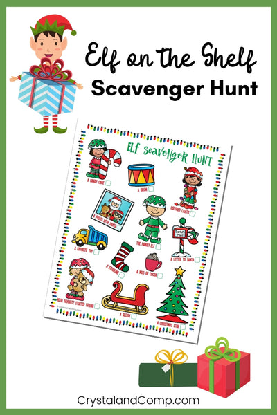 Elf Scavenger Hunt