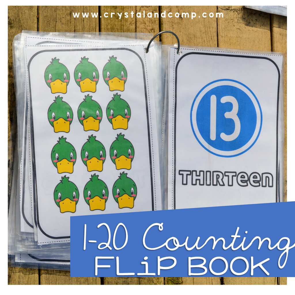 Counting Flip Book
