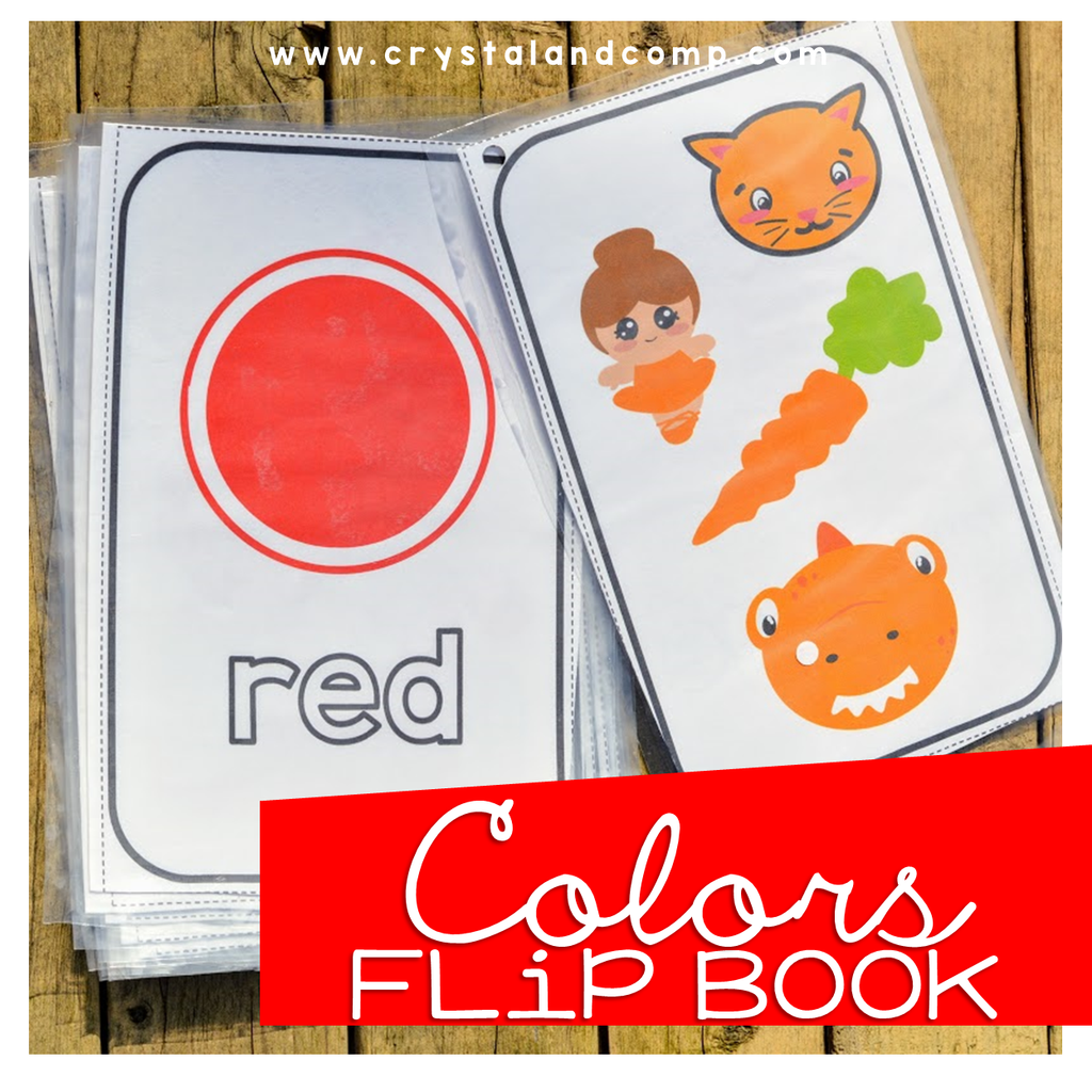 Colors Flip Book