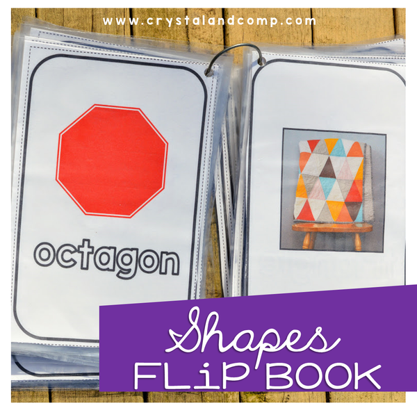 Shapes Flip Book