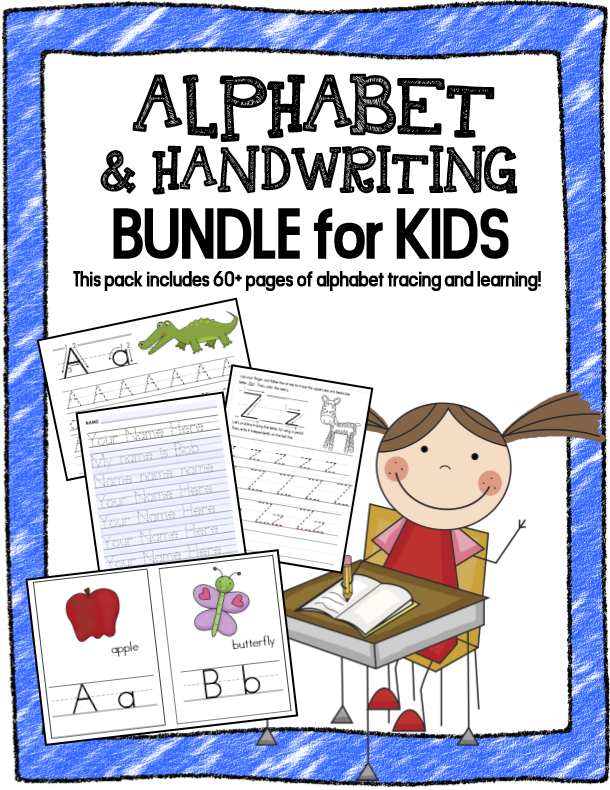 Alphabet and Handwriting Bundle
