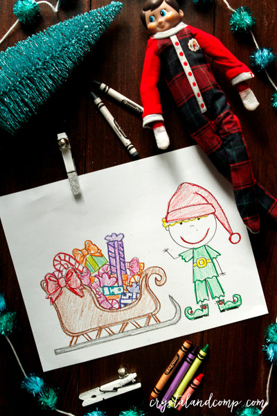 Elf Coloring Pages for Kids – CrystalandComp - photo#25