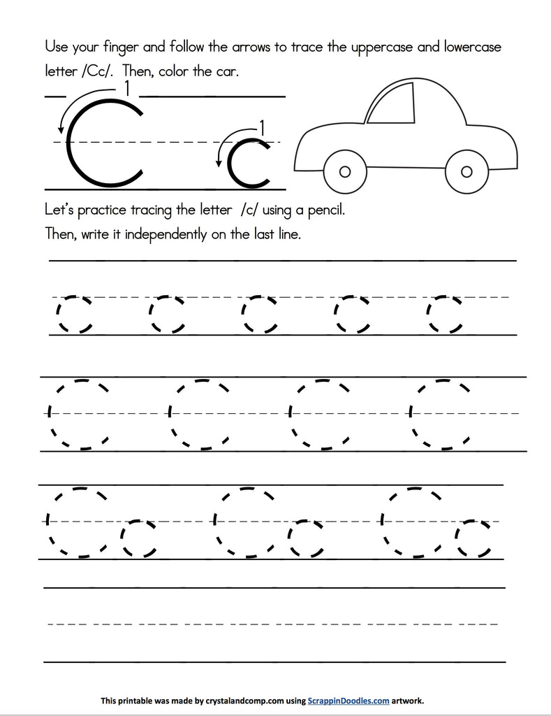 Letter of the Week Handwriting and Do a Dot Pages