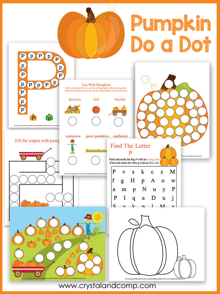 Pumpkin Do a Dot Pack
