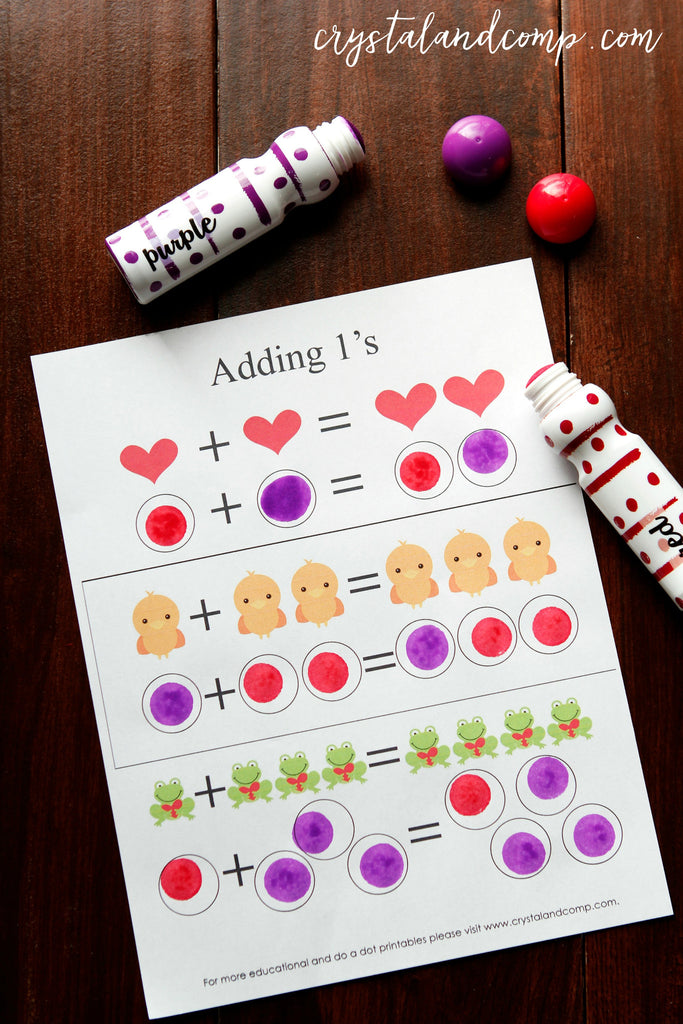 Valentine Heart Do a Dot Printable Pack