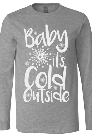 Baby It's Cold Outside Deep Heather