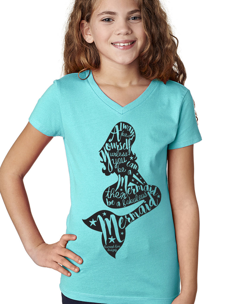 Be A Mermaid Tween Tee