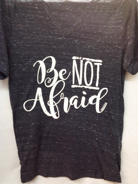 Be Not Afraid Marble Tee