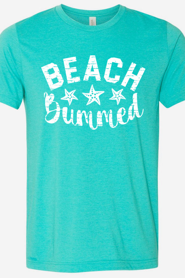 Beach Bummed Sea Green Tee