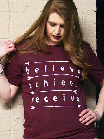 Believe Achieve Receive