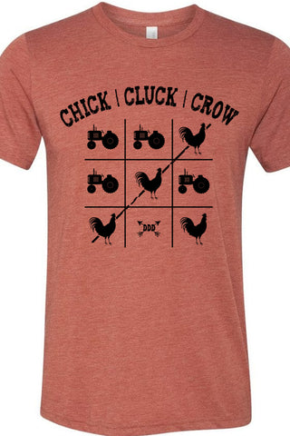 Chick Cluck Crow Tee