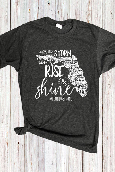 Hurricane Michael Florida Fundraiser Tee