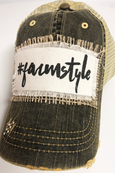 #Farmstyle Hat