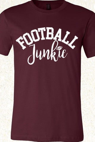 Football Junkie - Maroon